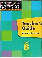 My Sidewalks on Reading Street Scott Foresman Intensive Reading Intevention Teacher's Guide Volume 1 Units 1-3 Level B