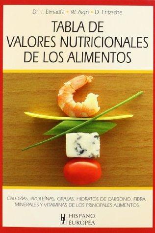 Tabla De Valor Nutricional De Los Alimentos Table Of Nutritional Value Of Food By Ibrahim Elmadfa