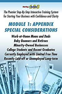 APPENDIX, Research and Development: How to Identify Your Money Making Business Idea (Starting a Business 1-2-3: Premier Step-By-Step Interactive Training Your Business with Confidence & Clarity)