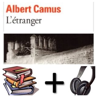 L' Etranger Audiobook PACK [Book + 3 CD]