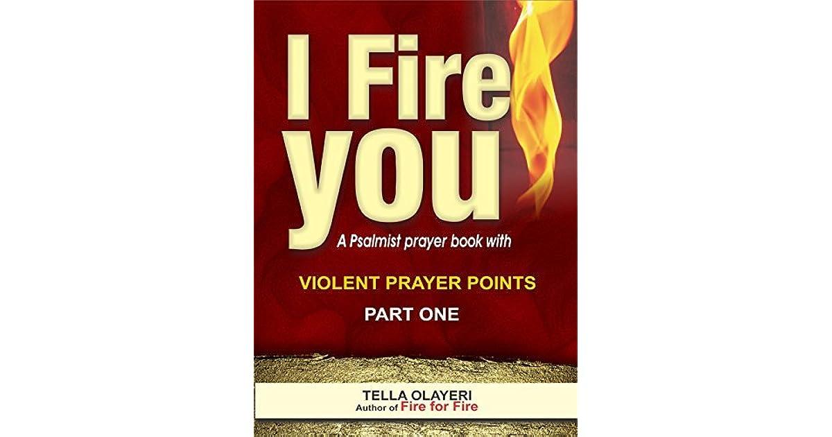 Violent Prayer Points