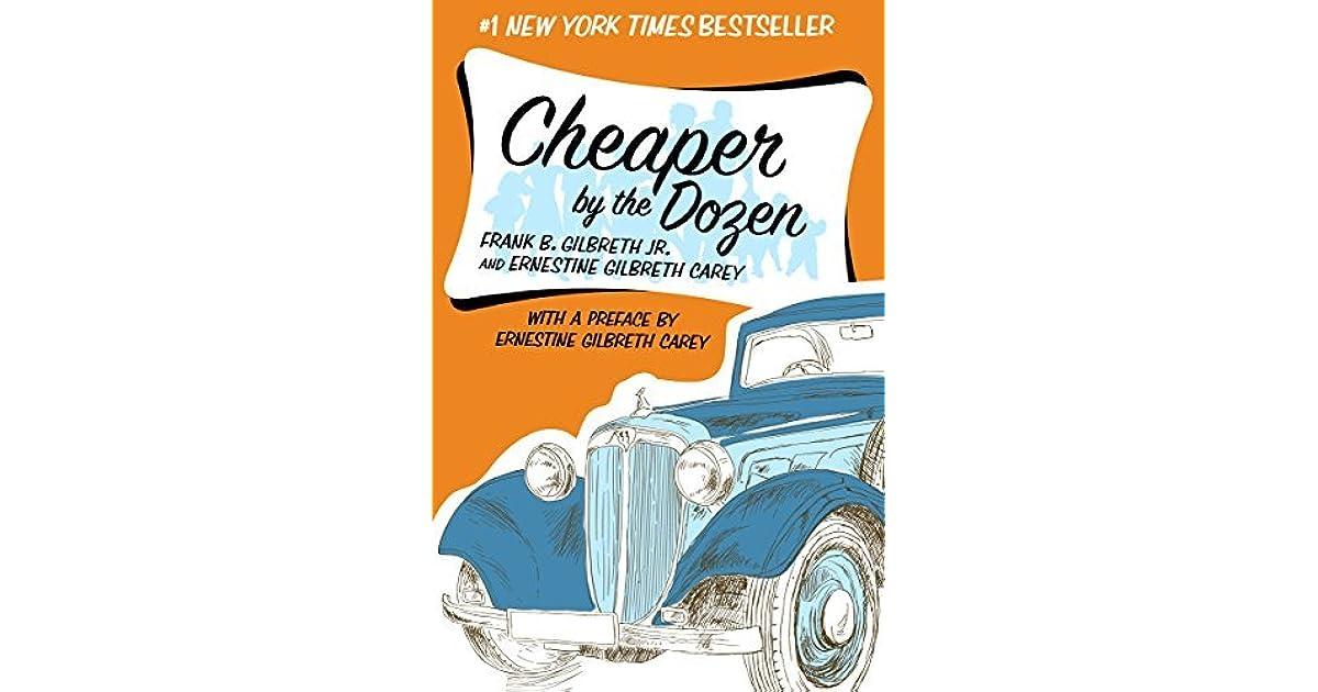 cheaper by the dozen book free download