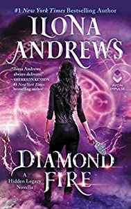 Diamond Fire (Hidden Legacy, #3.5)