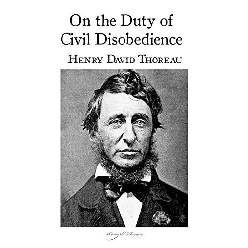 essay on the duty of civil disobedience thoreau Thoreau clearly states, in his on the duty of civil disobedience, that the government is unjust and doesn't represent the will of the people, that one man can't change the government, and that people succumb unconsciously to the will of the government.