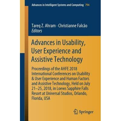 Advances in Usability, User Experience and Assistive