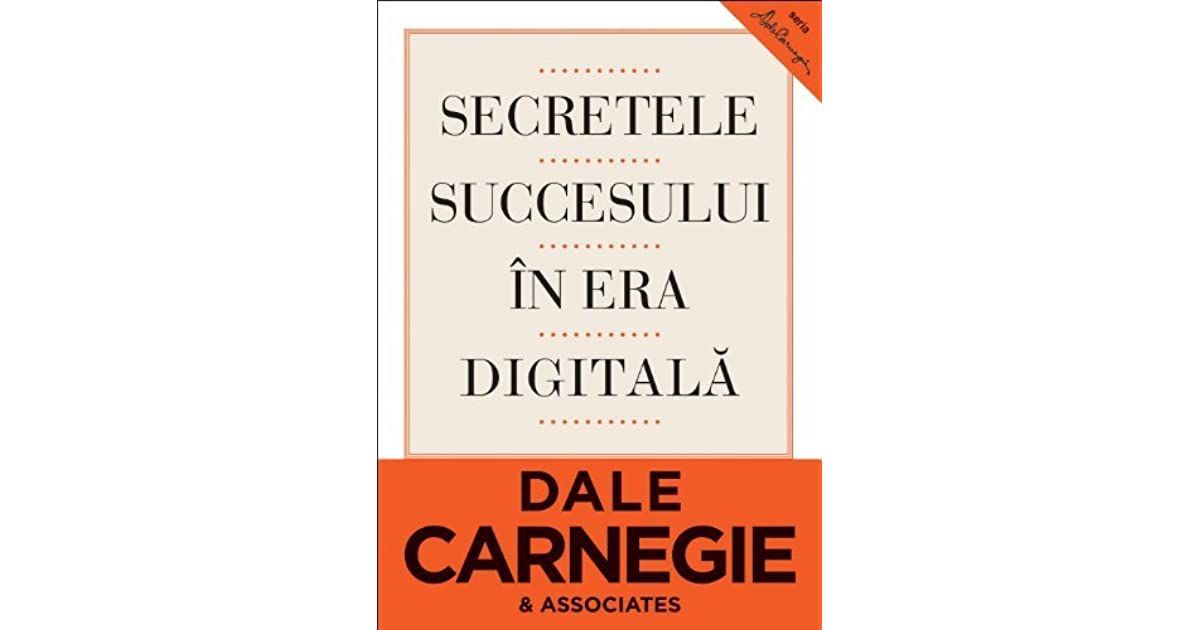 Secretele Succesului Dale Carnegie Pdf Download