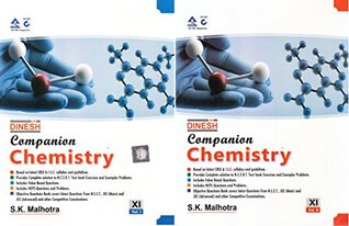 Dinesh Companion Chemistry for Class 11-2018-2019 Session (Set of 2 Volumes)