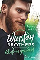 Whatever you want (Winston Brothers, #4)
