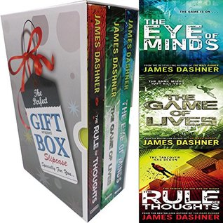 Mortality Doctrine James Dashner Collection Vol(1-3) 3 Books Bundle (The Eye of Minds,The Rule Of Thoughts,The Game of Lives) Gift Wrapped Slipcase Specially For You