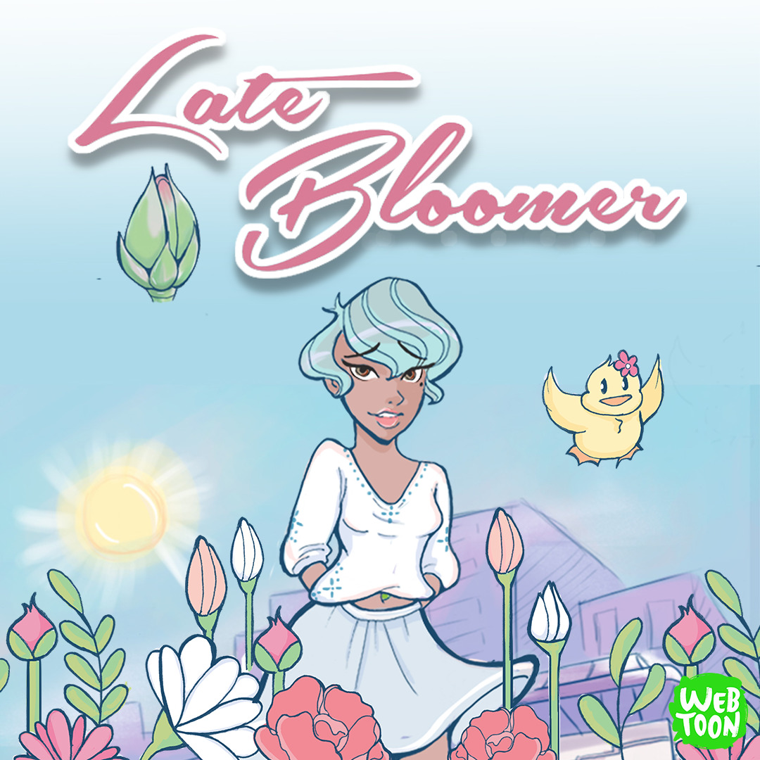 Late Bloomer cover picture webtoon