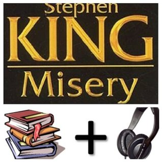 Misery Audiobook PACK in French [Book + 2 CD MP3]
