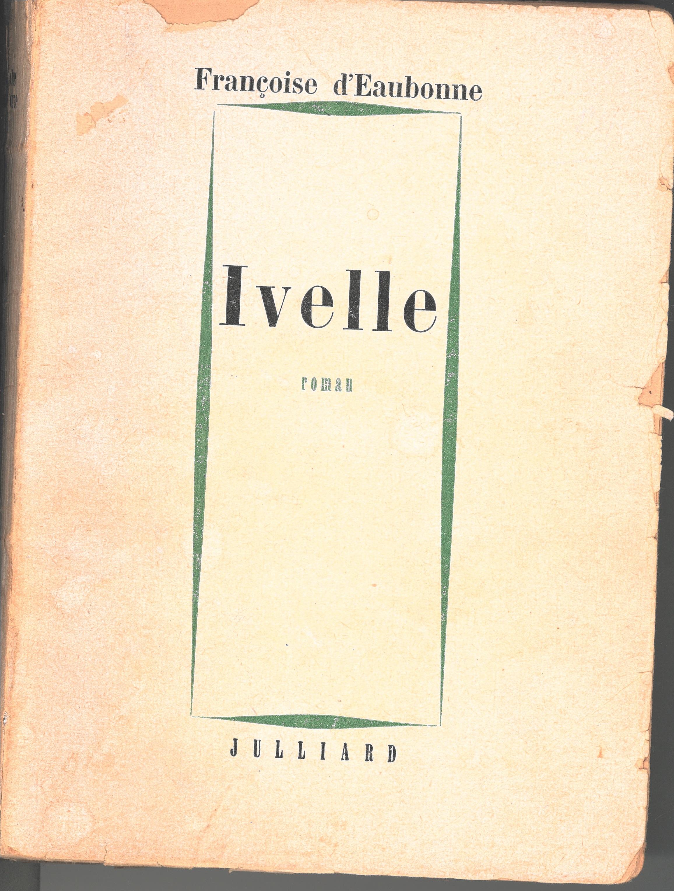 Ivelle Françoise dEaubonne