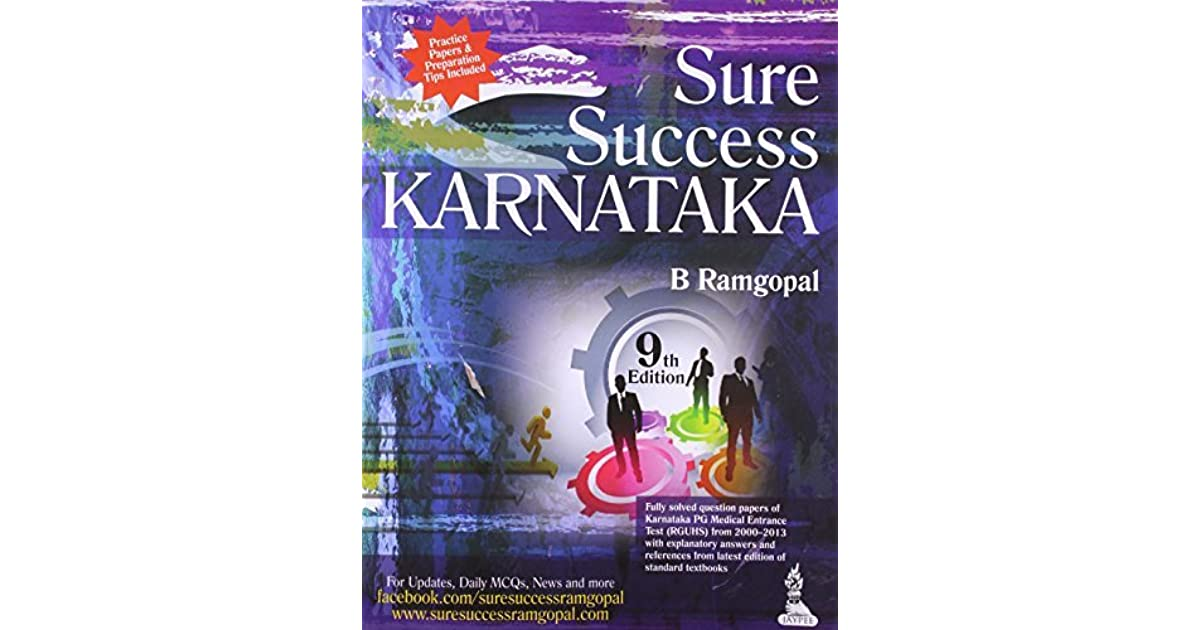 Sure Success Karnataka Fully Solved Quest Papers Of Karnatka