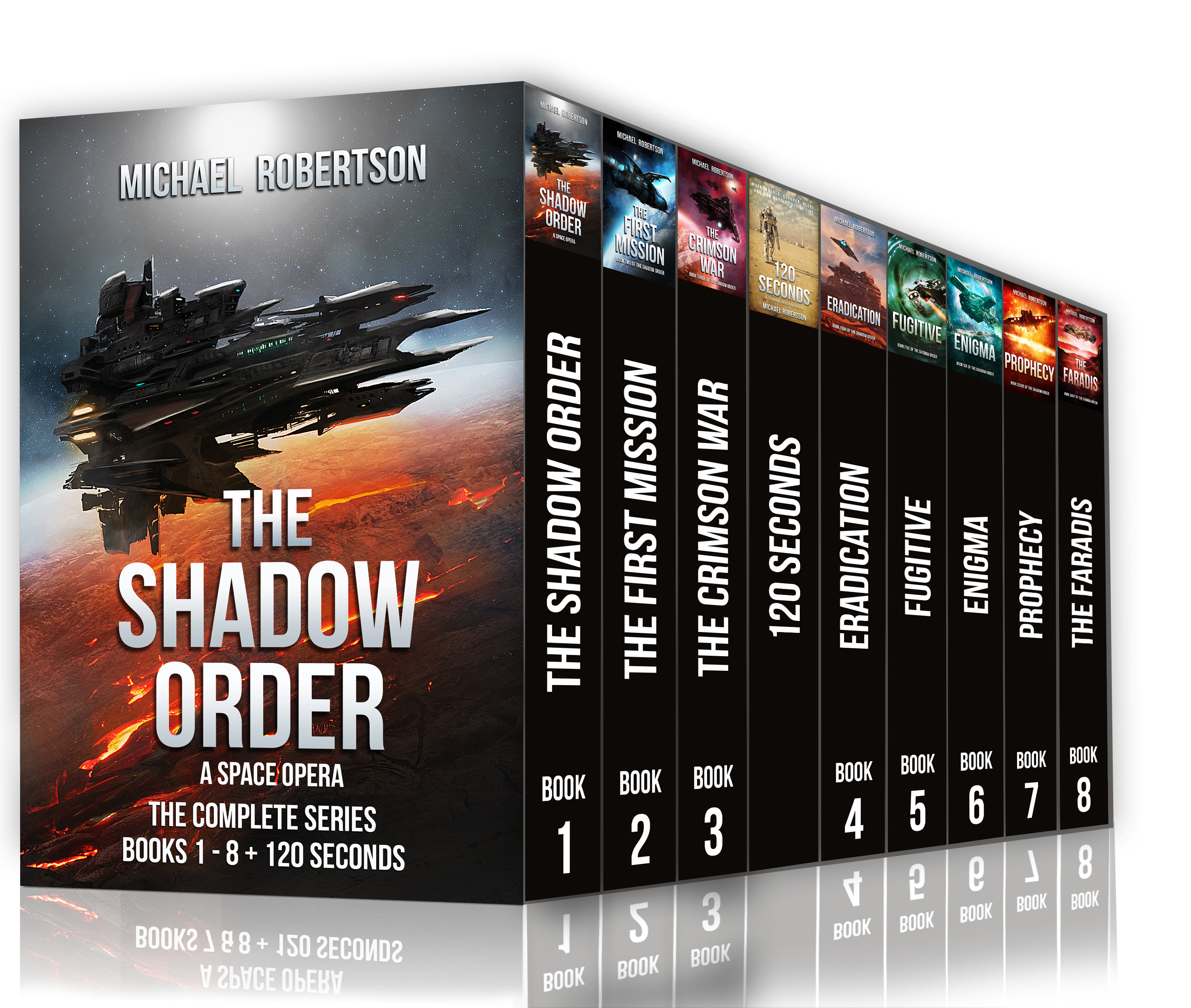 The Shadow Order - Books 1 - 8 + 120 Seconds (The complete series)