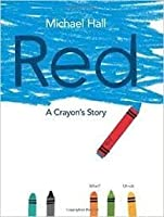 Red A Crayon's Story Paperback and Audio CD