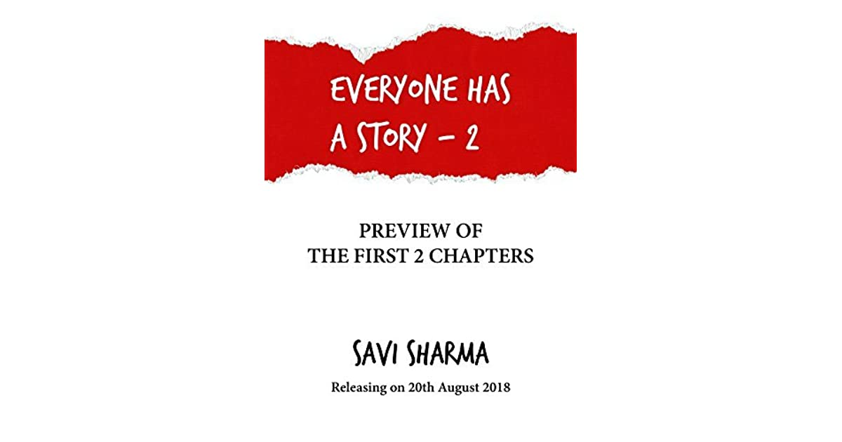 Everyone Has A Story By Savi Sharma Pdf