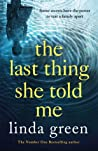 The Last Thing She Told Me audiobook download free