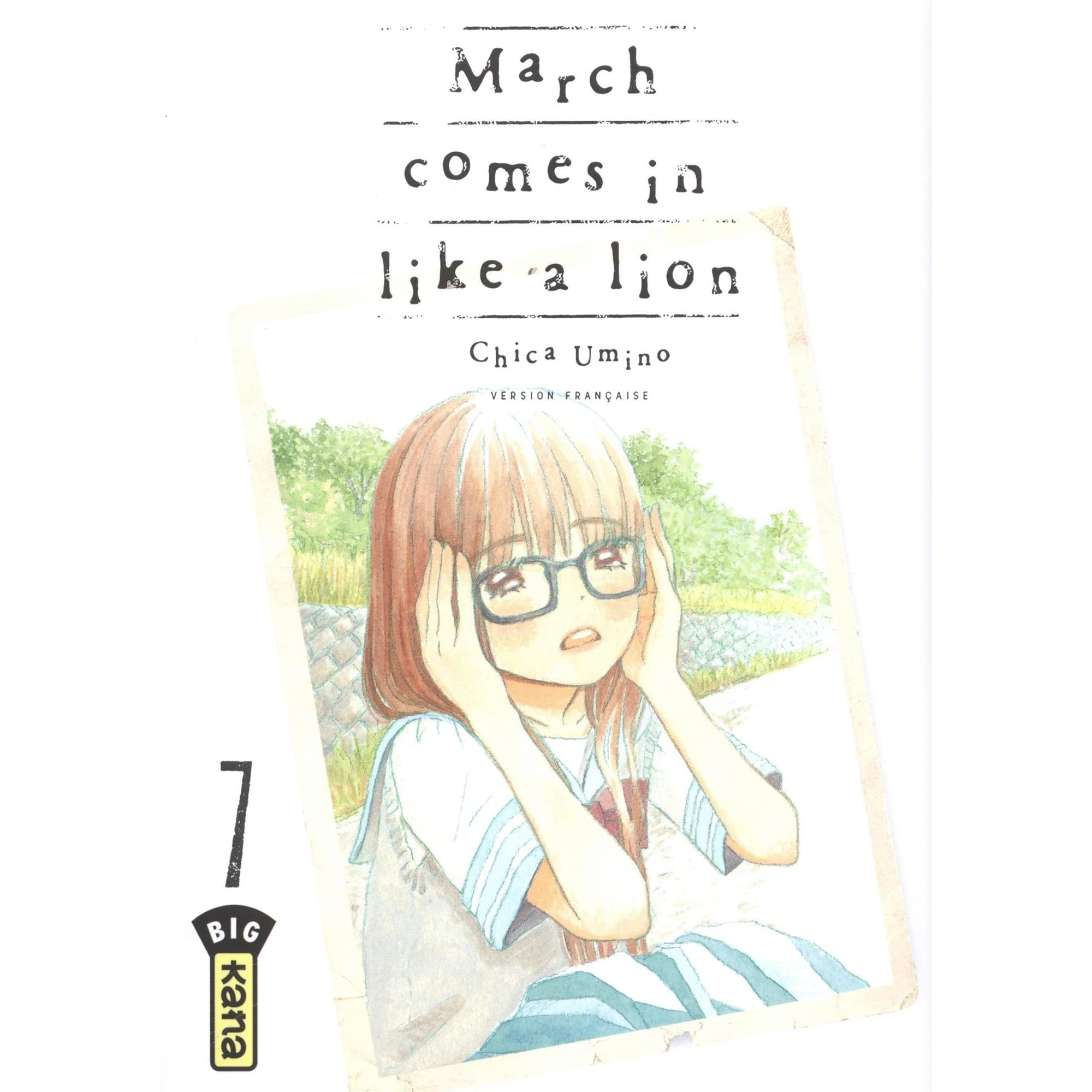 March Comes In Like And Goes Out Like >> March Comes In Like A Lion Tome 7 By Chica Umino