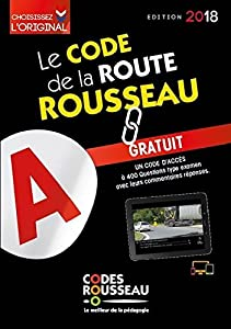Le code de la route Rousseau 2018