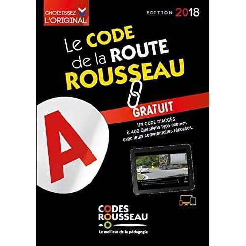 Le Code De La Route Rousseau 2018 By Codes Rousseau