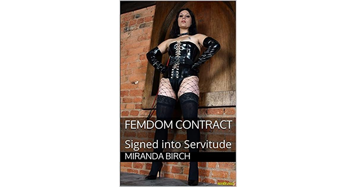 Femdom contract and poem — 7