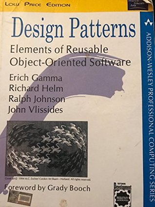 Design Patterns Elements Of Reusable Object Oriented Software By Gamma