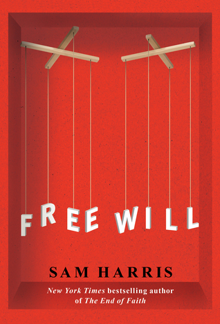 Cover for Free Will, by Sam Harris