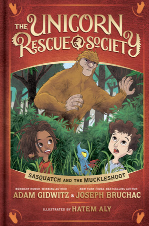 Sasquatch and the Muckleshoot by Adam Gidwitz