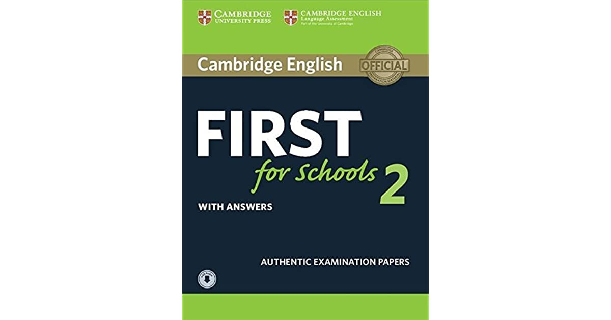 Cambridge English For Schools 2 Students Book