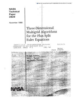 Three-Dimensional Multigrid Algorithms for the Flux-Split Euler Equations