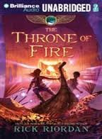 The Throne of Fire (Kane Chronicles) [Audiobook, CD, Unabridged] Unabridged edition