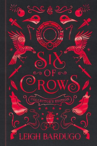 Bücherblog. Rezension. Book cover. Six of Crows (Book 1) by Leigh Bardugo. Fantasy, Young Adult.