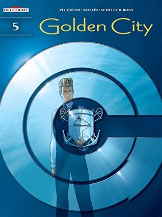 Golden City Vol. 5: The Harrison File