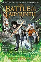 The Battle of the Labyrinth: The Graphic Novel (Percy Jackson #4)