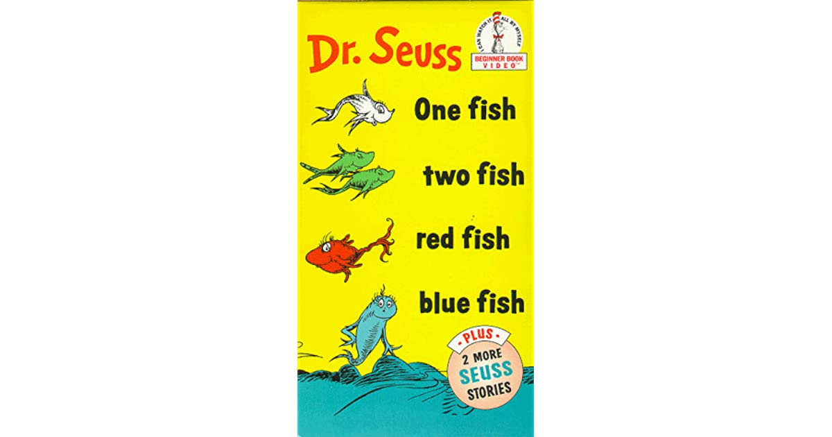 Dr. Seuss: One Fish, Two Fish, Red Fish, Blue Fish [Import
