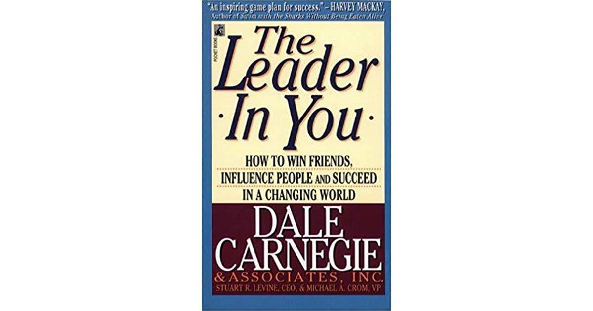 the leader in you by dale carnegie pdf free download