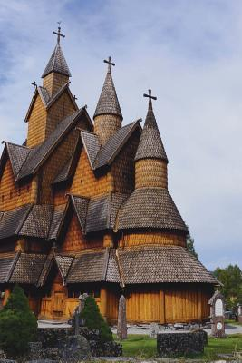 Heddal Stave Church in Norway Journal: 150 Page Lined Notebook/Diary NOT A BOOK