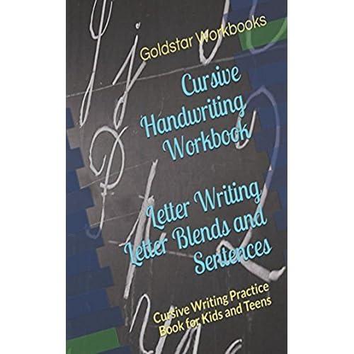 Learn to Handwrite Cursive Letter Blends Handwriting Practice Workbook