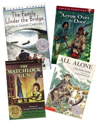 Historical Fiction 6 Pack: The Family Under the Bridge; the Matchlock Gun; Sarah Plain and Tall; Great Little Madison; the Fledgling (An Unofficial Box Set: Grade 4-5)