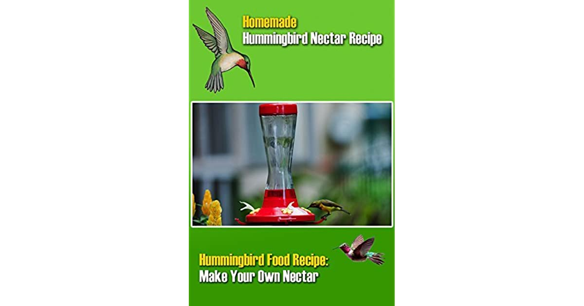 Best Homemade Hummingbird Nectar Recipe