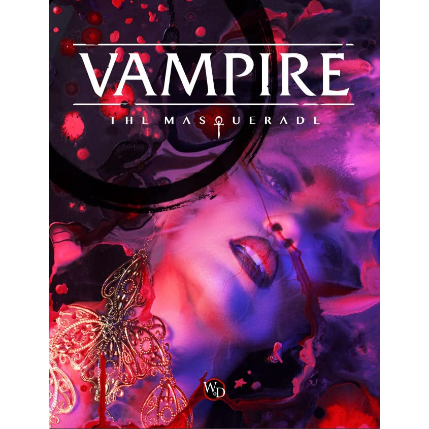 Vampire: The Masquerade 5th Edition Core Book by Kenneth Hite