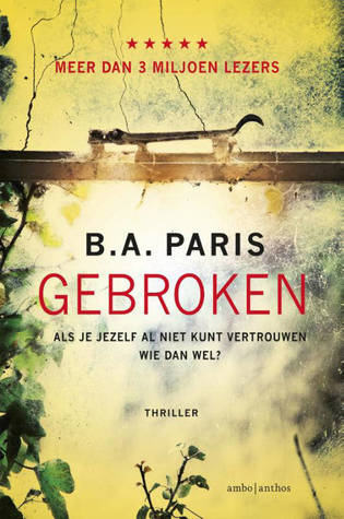 Gebroken by B.A. Paris