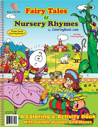 Fairy Tales Nursery Rhymes Coloring Book By Coloringbook