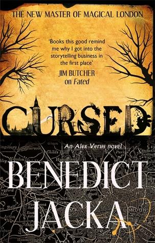 Cursed (Alex Verus, #2) by Benedict Jacka
