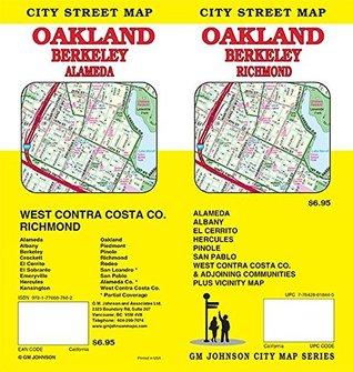 Oakland/Berkeley/West Contra Costa, California Street Map