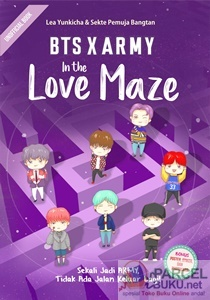 bts x army in the love maze by lea yunkicha