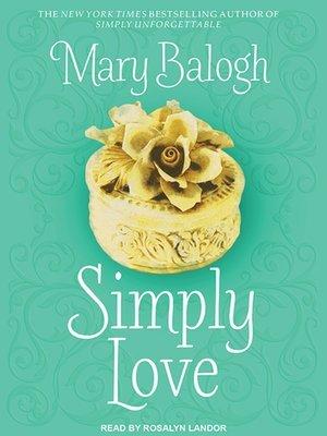 Simply Love (Simply Quartet #2)