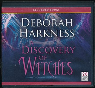 A Discovery of Witches by Deborah Harkness Unabridged CD Audiobook