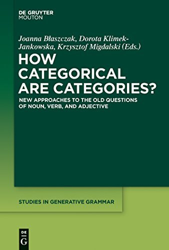 How Categorical Are Categories