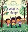 What Is Sleep (Very First Lift The Flap Questions And Answers)